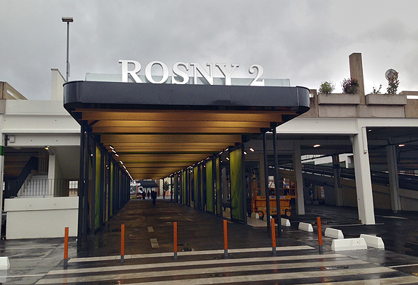 Lettres lumineuses RER Rosny 2  Enseignes Lumineuses Exo  ~ Centre Des Impots Rosny Sous Bois
