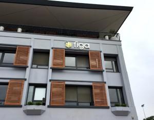 Figa_Lettres et logo lumineux