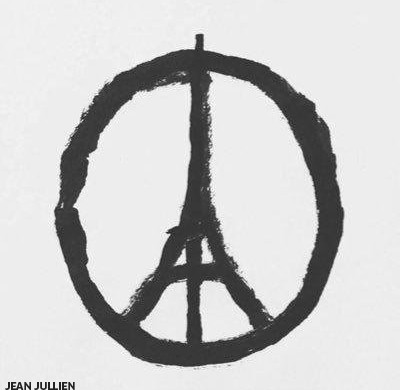 Peace for Paris, Jean Jullien