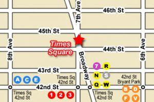Plan Times Square