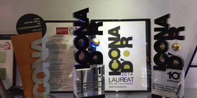 Exo Signs lauréat du prix Icona d'Or - trophées