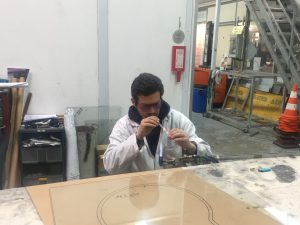 Installation éléctrodes