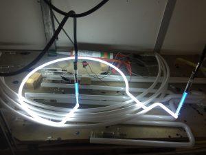 Tube néon atlier