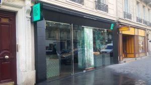 Facade Paris rue de Rennes Patrick Roger 2