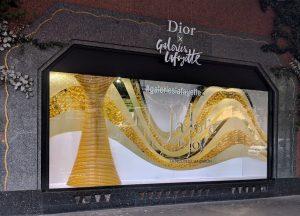 Vitrine Dior Galeries Lafayette