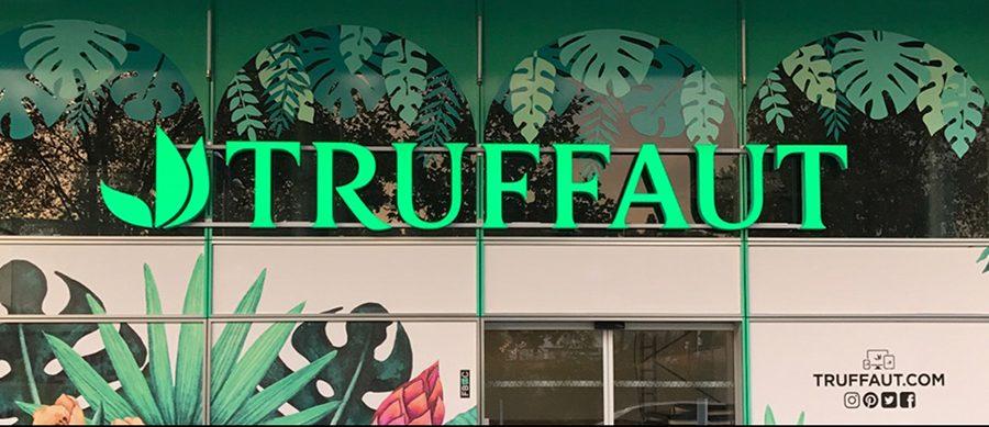 Truffaut - le vert nouveau est arrivé | Enseignes Lumineuses ...
