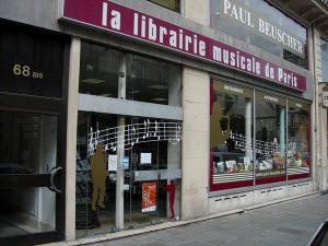 Librairie musicale Paul Beuscher