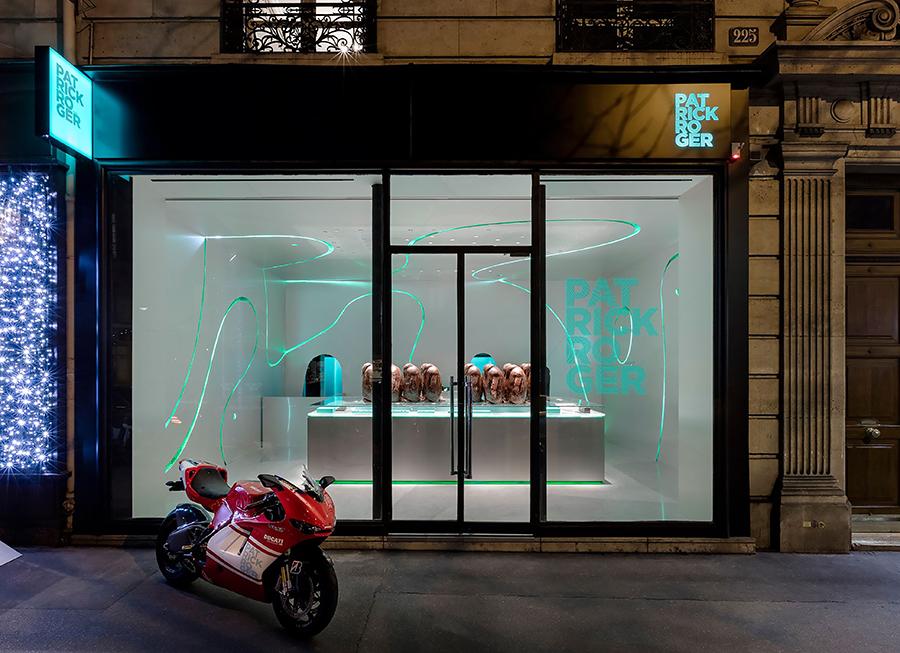 Patrick Roger 225 Fg St Honoré à Paris - la toute nouvelle boutique, ouverte depuis lundi 18 décembre.