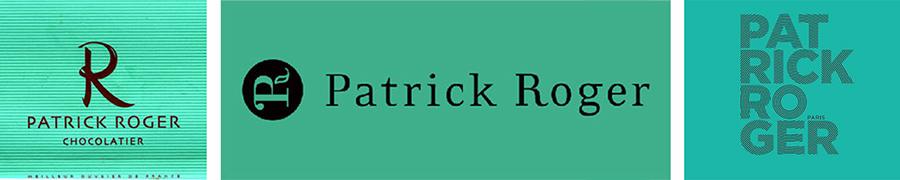 Patrick Roger - évolution du logo
