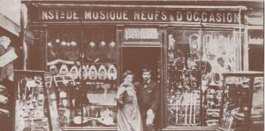 Boutique Paul Beuscher en 1850