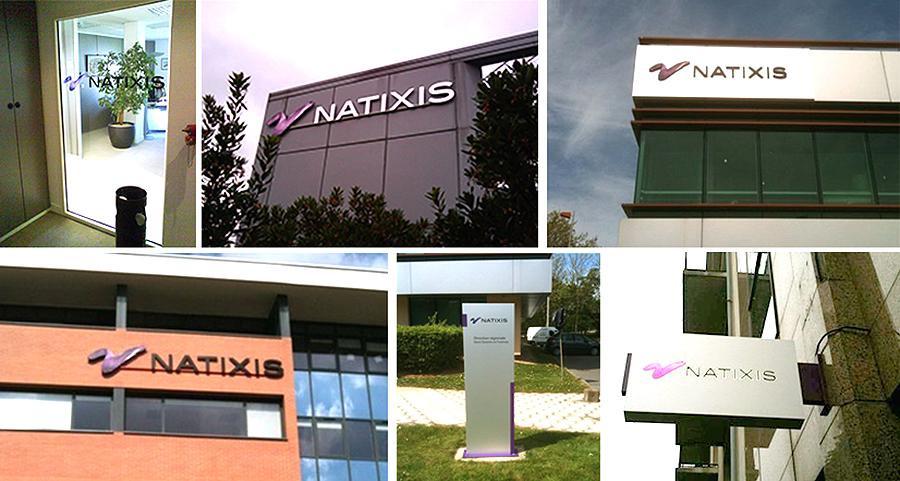 NATIXIS par Exo Signs