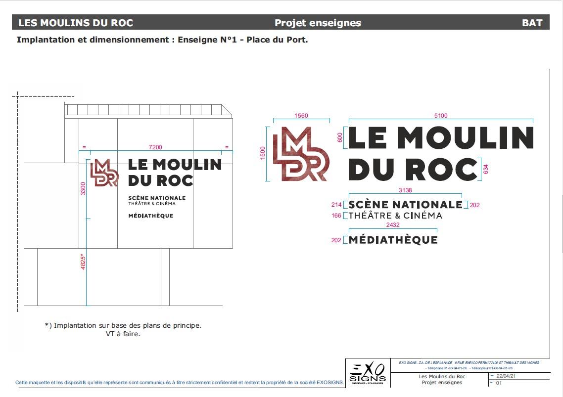 Implantation 1 Le Moulin du Roc
