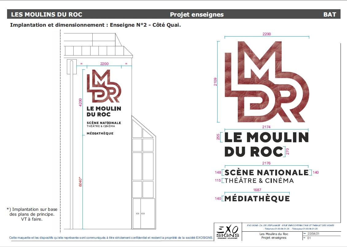 Implantation 2 Le Moulin du Roc