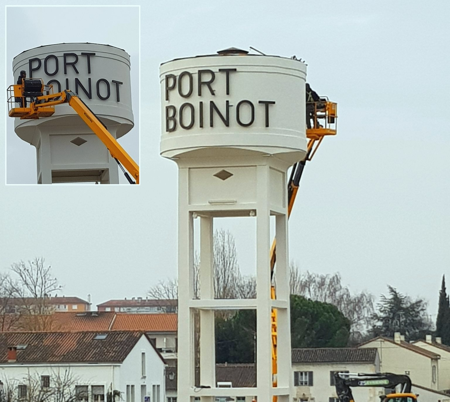Enseigne Port Boinot by Exo Signs